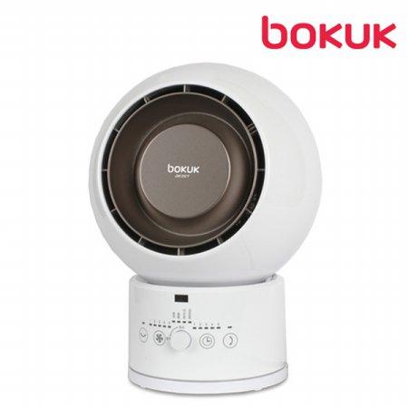 에어젯 O2 핫앤쿨 히터 BKH-1581PB [2단계 온풍모드 / 7중 안전시스템 / 3D 입체회전]