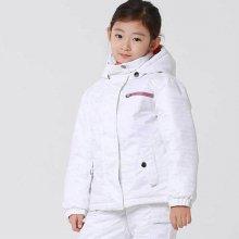 와이키 아동 스키-보드복 자켓 YP-1100 화이트 S