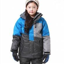 와이키 아동 스키-보드복 자켓 YJ-1060 블루 M