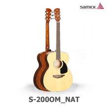 삼익 어쿠스틱 기타 SGW S-200OM_NAT(내츄럴/OM바디)