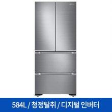 스탠드형 김치냉장고 RQ58N92A37L (584L) 김치플러스/4도어