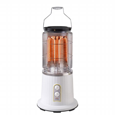 카본 전기 히터 FU-2500CH [2단계 온도조절 / 3시간 타이머 / U자형 램프 탑재]