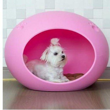 오블하우스 - 핑크 애완용품 애견하우스 W21AEC9