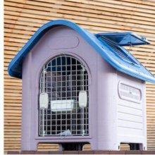 엠펫 썬루프 도그 하우스(02DX) - 블루 애완용품 W21AE2C