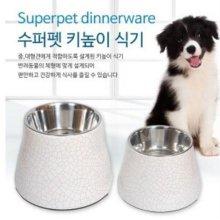 수퍼펫 키높이식기(크랙)L 애완용품 애완밥그릇 W21E543