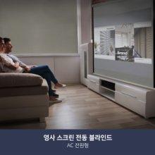 [전원용 전동 블라인드] 영사스크린(210x210)