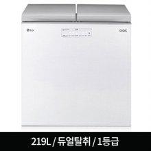 뚜껑형 김치냉장고 K228LW11E (219L) 디오스/1등급