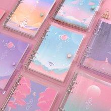 세컨드맨션 A5 6공 트윙클 문라잇 다이어리 만년형 [플래너/스케줄러/저널] 01 벚꽃