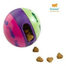 퍼프라스트 고양이 간식볼(간식출구 크기조정가능) W196C50