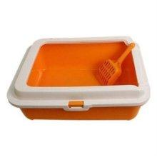 CF-S02A 평판형 고양이 화장실 모래삽(오렌지) W1B6125