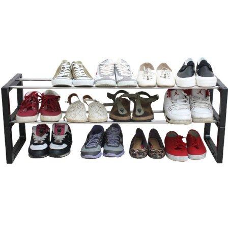 신발장신발정리대3단12족92Cm블랙