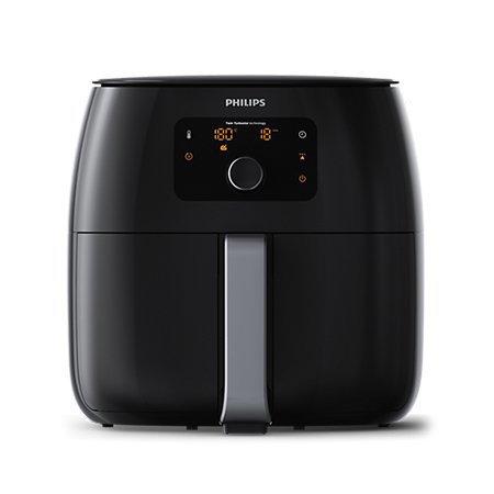 트윈터보스타 특대형 에어프라이어 HD-9650 [1.4KG / 더블 회오리판 / 보온 기능 / 원터치]