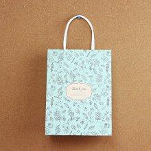 따스한 flower 땡큐 쇼핑백1개(디자인랜덤)