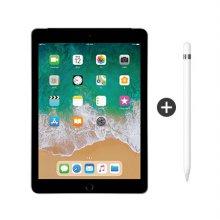 패키지할인 / 9.7형 iPad 6세대 WI-FI 32GB 스페이스 그레이 MR7F2KH/A + 1세대 애플펜슬