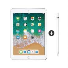 패키지할인 / 9.7형 iPad 6세대 WI-FI 128GB 실버 MR7K2KH/A + 1세대 애플펜슬