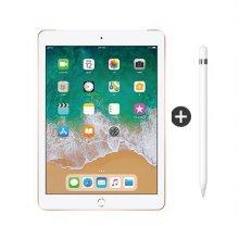 iPad 3월1주차 이후 순차발송 / 패키지할인 / 9.7형 iPad 6세대 WI-FI 32GB 골드 MRJN2KH/A + 1세대 애플펜슬