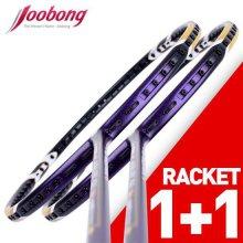 주봉/J-프로젝트 1100/1+1/배드민턴라켓 J-PROJECT 1100 2자루