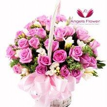 위드유 고급형 꽃바구니 전국꽃배달