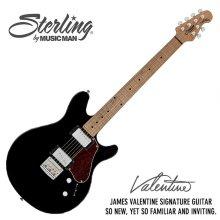 Sterling - Valentine JV60 Black<br>Maroon5 James Valentine Sig <br>(JV60-BK)