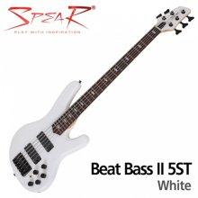 Spear Beat-II 5st WHT / 스피어 5현 베이스기타