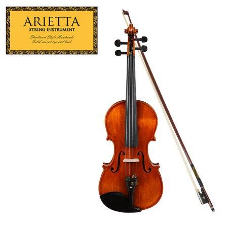 신학기 바이올린 특가 Arietta 아리에타 AVS201E 바이올린 4/4 사이즈 (유광)