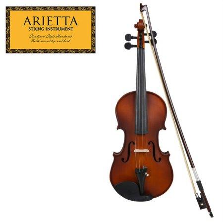 신학기 바이올린 특가 Arietta 아리에타 ASN-590 바이올린 3/4 사이즈 (무광)