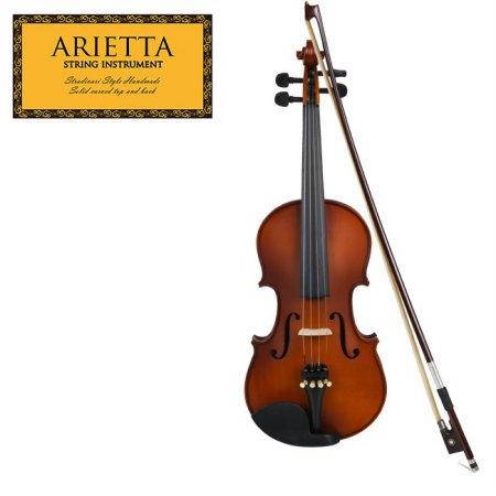 신학기 바이올린 특가 Arietta 아리에타 ASN-490 바이올린 4/4 사이즈 (무광)