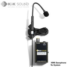 K&K Sound CXM5 Saxophone Microphone System / 색소폰 마이크 프리앰프 (색소폰, 섹소폰)