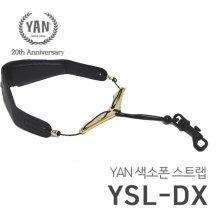 얀(YAN) 색소폰 스트랩 / YSL-DX 골드