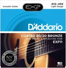 Daddario Coated 80/20 Bronze NY EXP11 (012-053) 다다리오 통기타줄 코팅