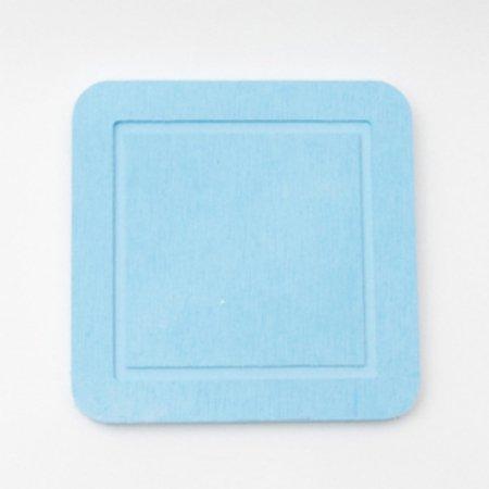 DONO 규조토 컵받침 사각형 블루 101.002.09