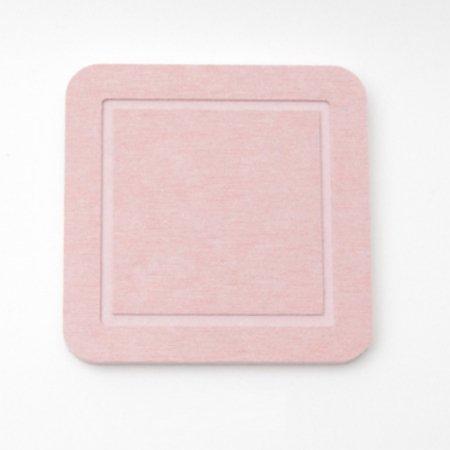 DONO 규조토 컵받침 사각형 핑크 101.002.10