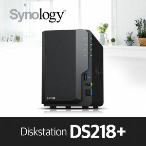 [LPOINT1만점][에이블] DS218+ [케이스] 2bay NAS 하드미포함