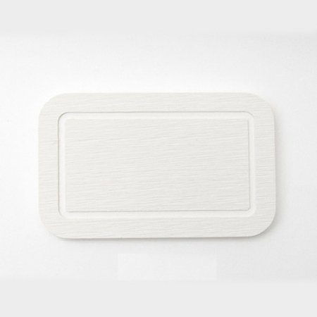 DONO 규조토 비누받침대 직사각형 화이트 101.002.17
