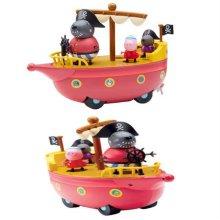 페파피그 그랜파독의해적선 소꿉놀이 해적선 장난감_W1369F7