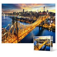 500피스 직소퍼즐 맨하탄과 퀸즈보로 브릿지