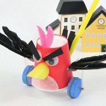 황선생만들기 날개짓하는 핑크버드 만들기 5세트구성