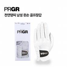 [PRGR] 프로기어 정품 양피장갑 남성용 한손 골프장갑 21호
