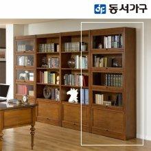 미네르바 프라임 800유리서재책장 _엔틱