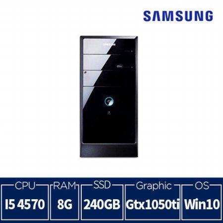 4세대 게이밍 삼성컴퓨터 DB400T3A [8G/SSD240G/GTX1050TI/Win10] - 리퍼