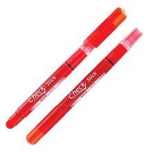 동아)체크스틱 색연필(빨강)-다스(12개입)_W07A63F