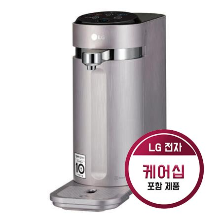 [36개월케어십포함] 퓨리케어 슬림스윙 냉온정수기 WD502AP(로즈)