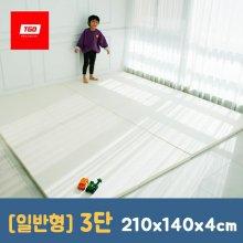 팡팡 폴더매트 (일반형 3단) 210x140x4cm 09_(일반형) 3단_크림