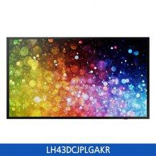 [2% 할인]43형 스마트 사이니지 TV 스탠드 LH43DCJPLGAKR 108cm