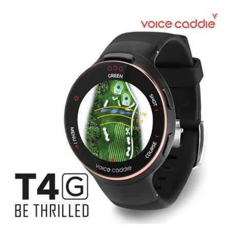 보이스캐디 정품 T4G GPS 워치형 거리즉정기 블랙