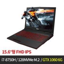 게이밍 노트북 GTX1060 MSI GL63  M-GL63-8RE