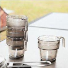 트라이탄더블 머그컵/4개세트/캠핑용컵