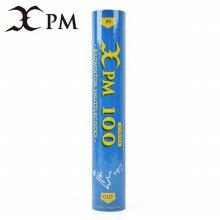XPM/100/거위깃털/배드민턴공/셔틀콕/12개입 XPM 100(1통_12개입)