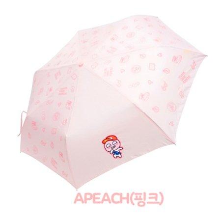 트래블패턴 3단우산 IUKTU30011 어피치(핑크)