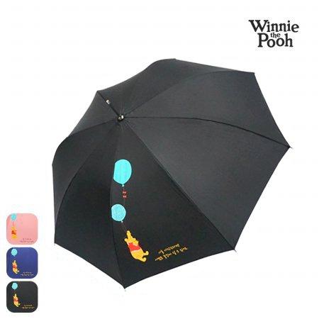 디즈니 푸우 58 풍선 장우산 HUPHU10002 블랙